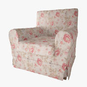 Krzesło Ikea (1) 3d model