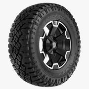 Off Road Wheel XD & WRANGLER 3d model