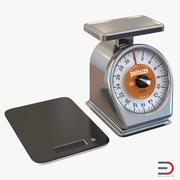 Kolekcja wagi kuchennej 3d model