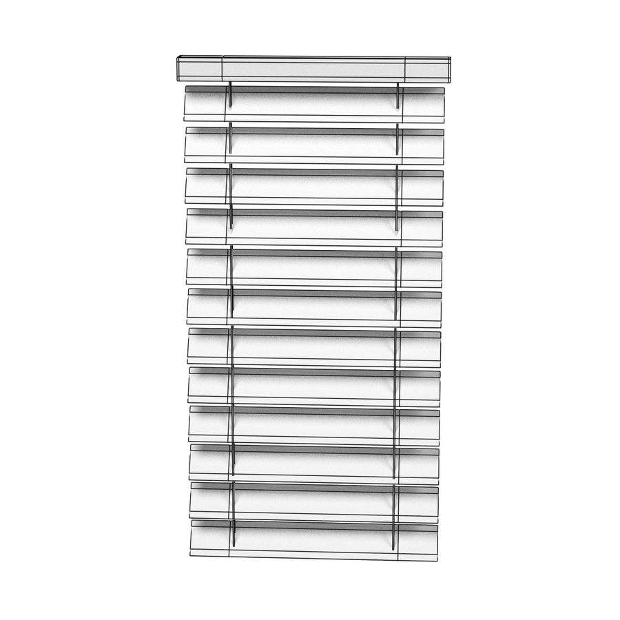 Blinds Set royalty-free 3d model - Preview no. 20