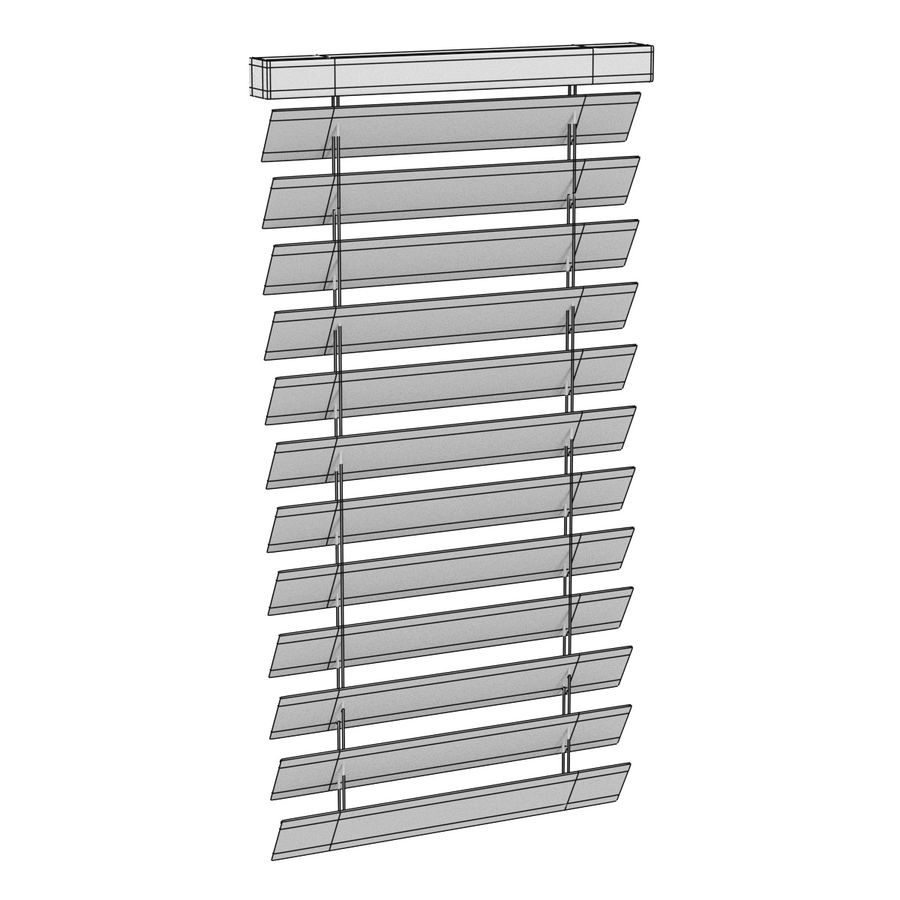 Blinds Set royalty-free 3d model - Preview no. 21