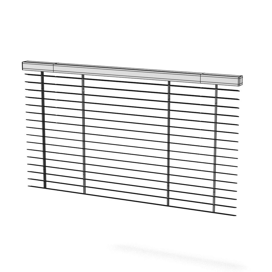 Blinds Set royalty-free 3d model - Preview no. 11