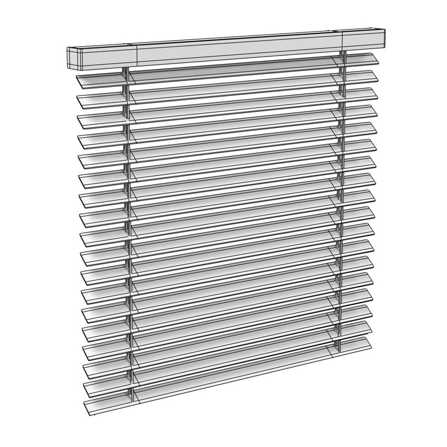 Blinds Set royalty-free 3d model - Preview no. 6