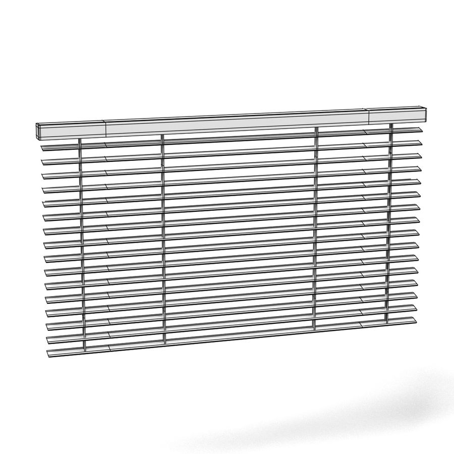 Blinds Set royalty-free 3d model - Preview no. 10