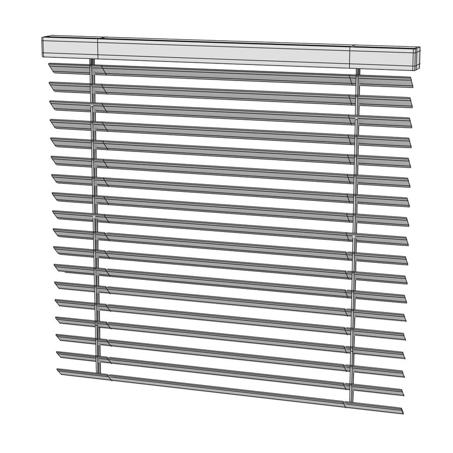 Blinds Set royalty-free 3d model - Preview no. 5