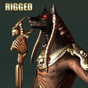 Anubis Monster 3d model