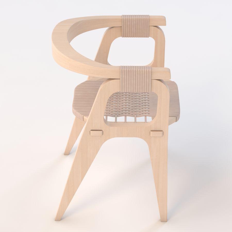 Bind B1 Diy Chair od Studio Klaer royalty-free 3d model - Preview no. 5