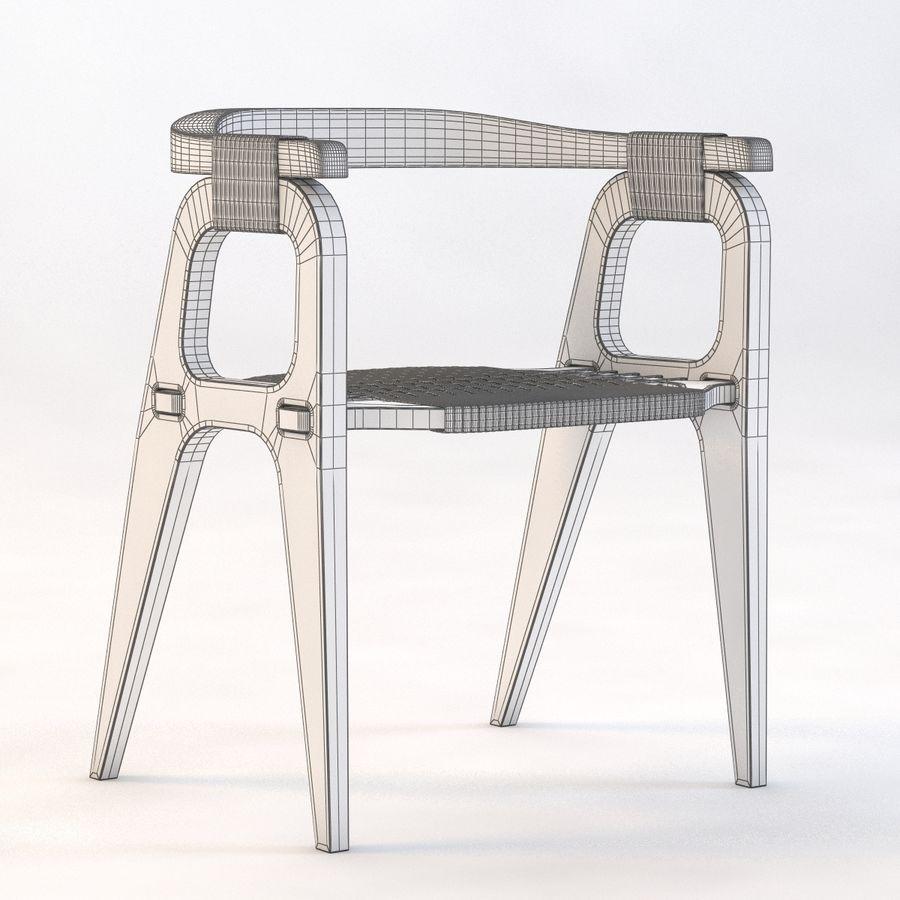 Bind B1 Diy Chair od Studio Klaer royalty-free 3d model - Preview no. 3