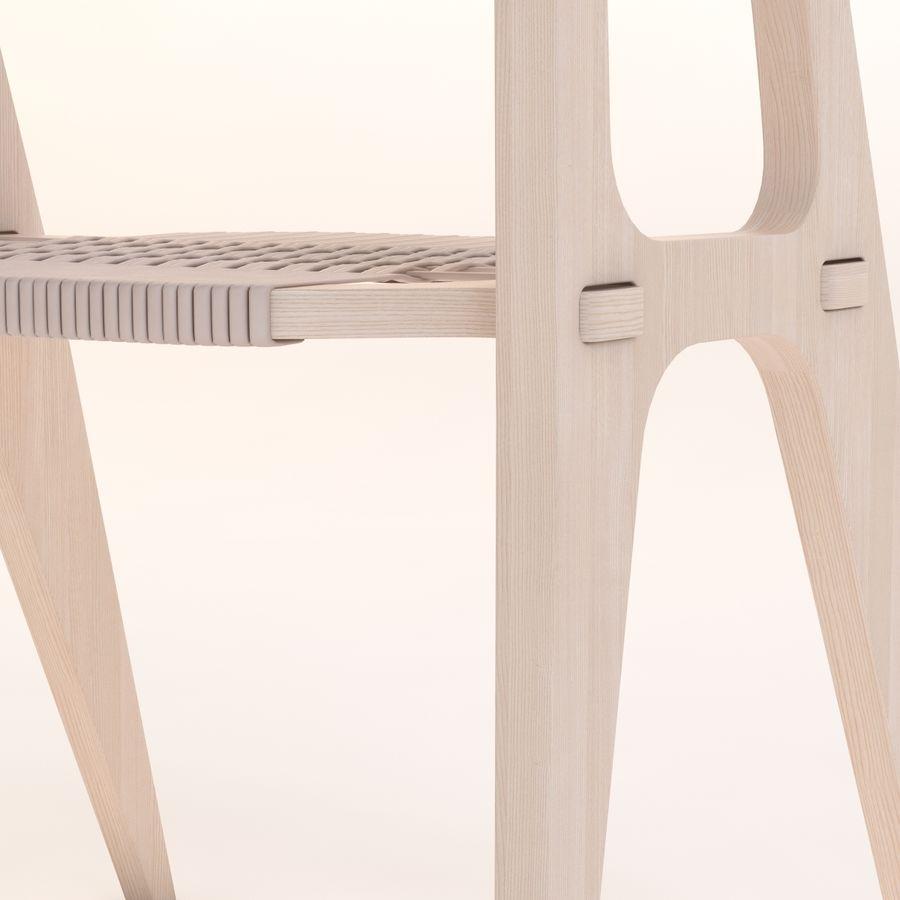 Bind B1 Diy Chair od Studio Klaer royalty-free 3d model - Preview no. 10