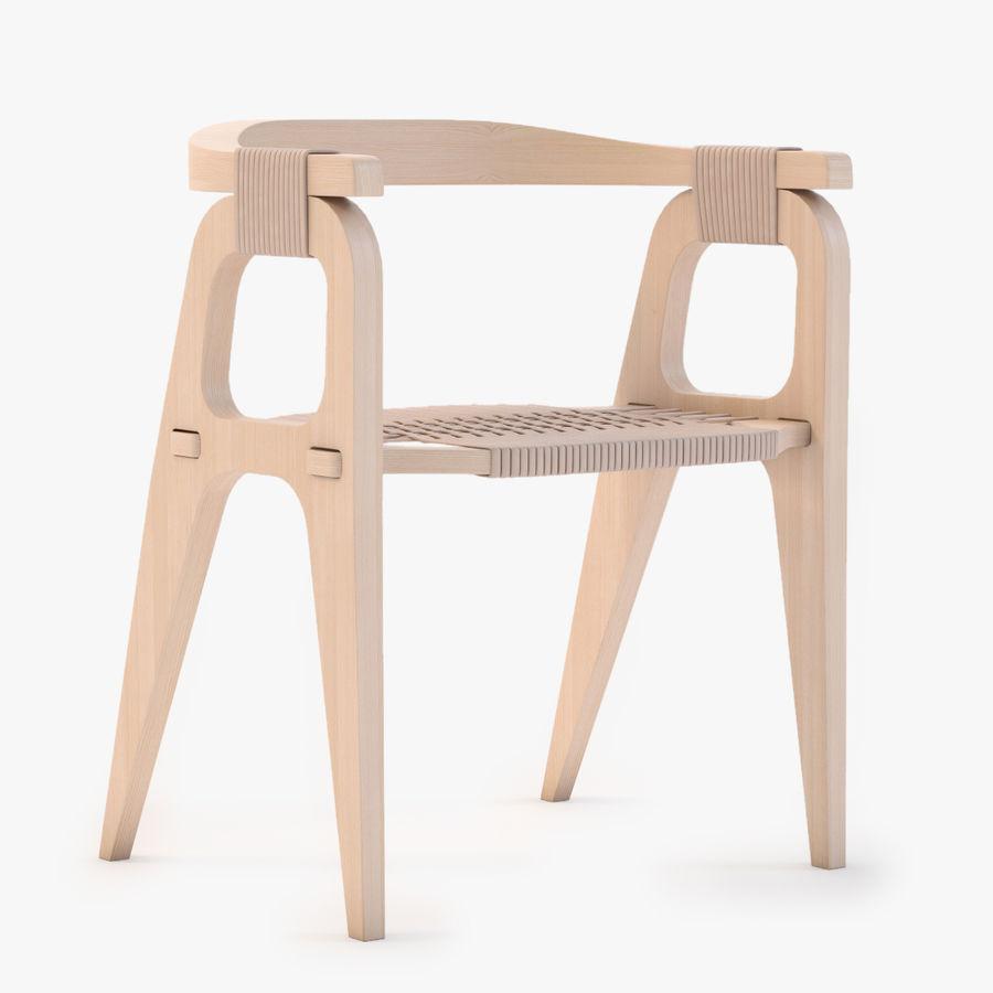 Bind B1 Diy Chair od Studio Klaer royalty-free 3d model - Preview no. 1