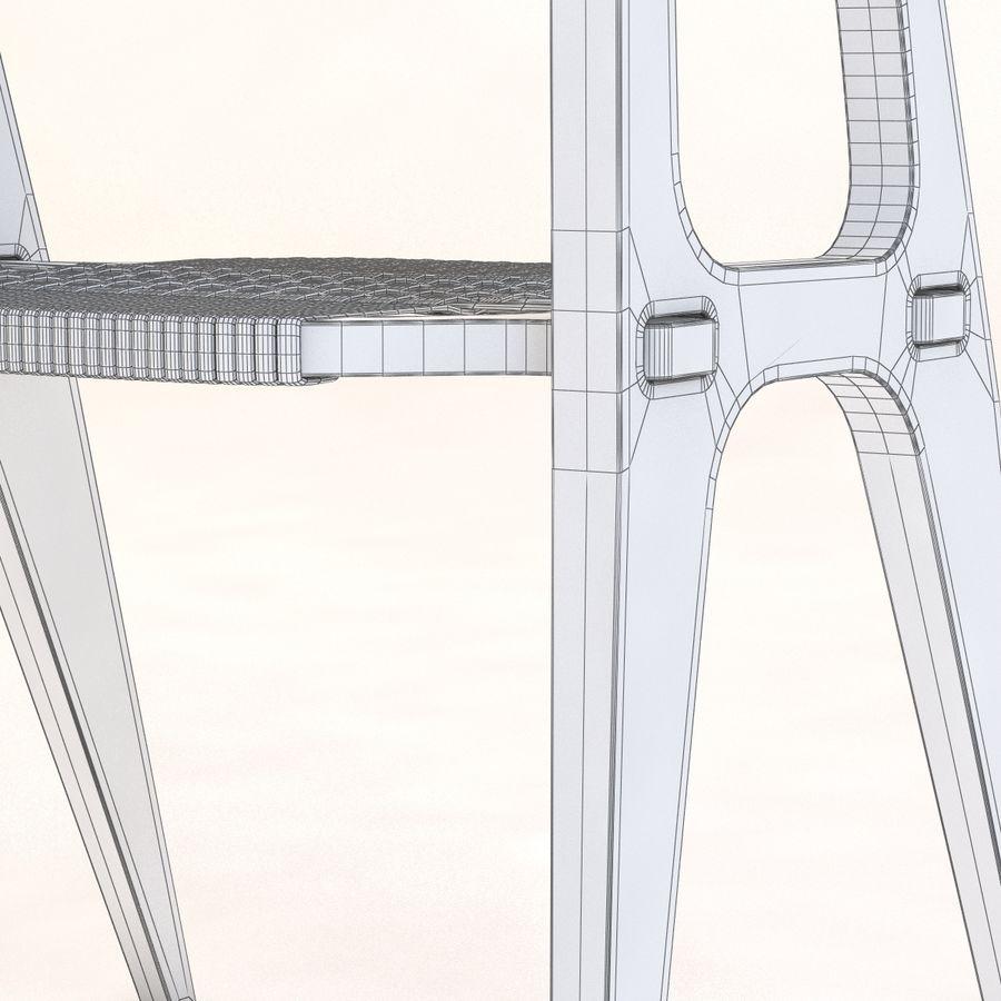 Studio KlaerのバインドB1 Diyチェア royalty-free 3d model - Preview no. 11