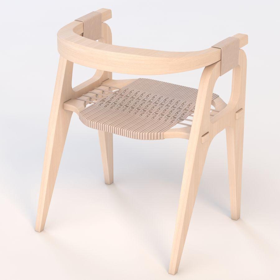 Bind B1 Diy Chair od Studio Klaer royalty-free 3d model - Preview no. 6
