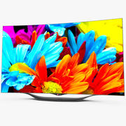 LG OLED智能电视 3d model