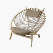 PP 130 The Circle Chair  -  Hans J. Wegner 3d model