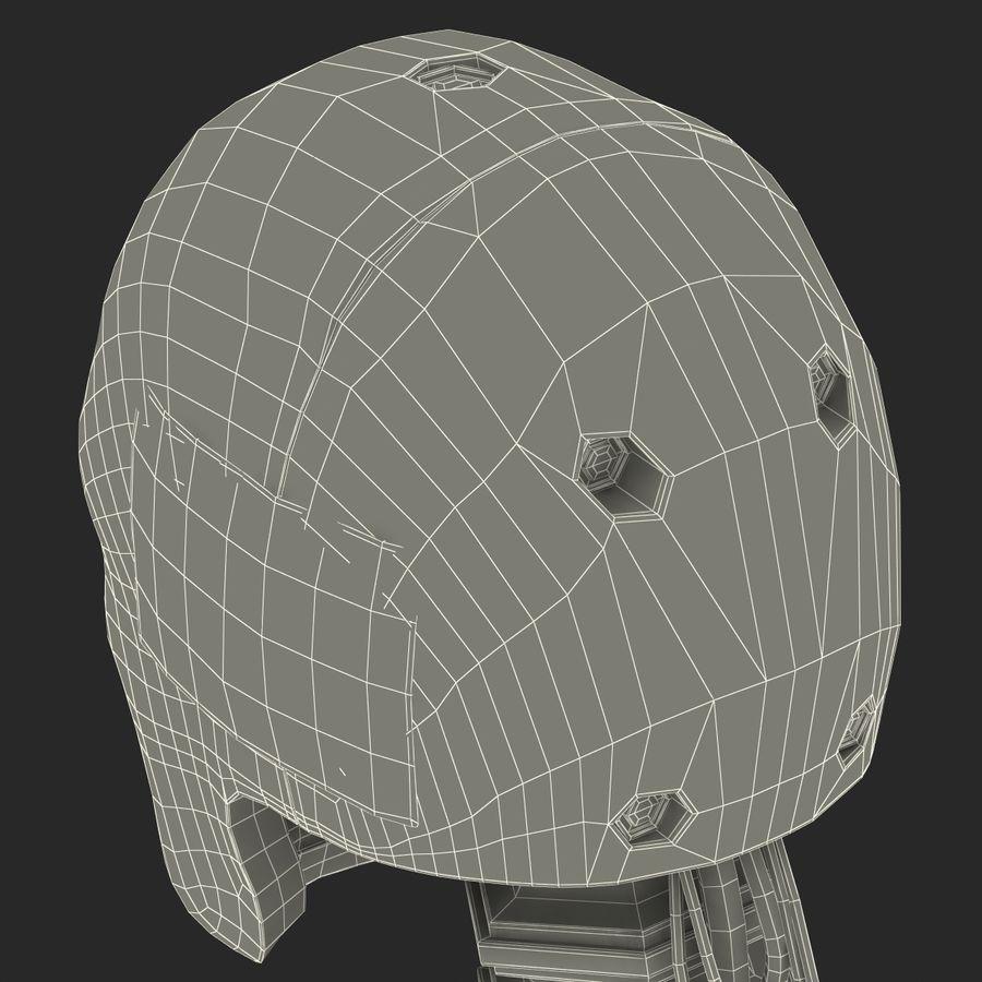 Man Crash Test Dummy Head royalty-free 3d model - Preview no. 28