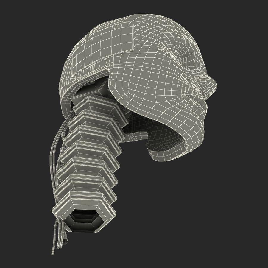 Man Crash Test Dummy Head royalty-free 3d model - Preview no. 26