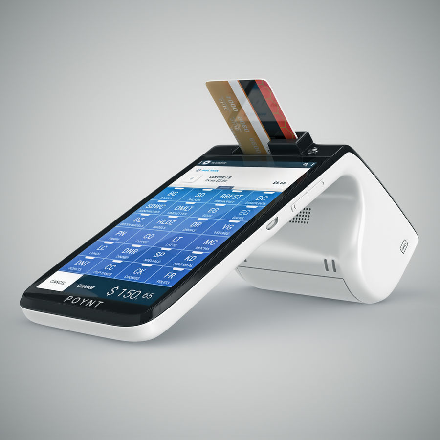 Poynt Smart Payment Terminal royalty-free 3d model - Preview no. 2