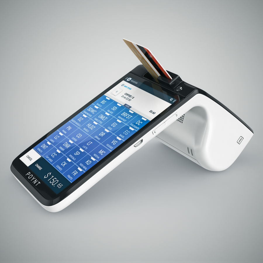 Poynt Smart Payment Terminal royalty-free 3d model - Preview no. 15