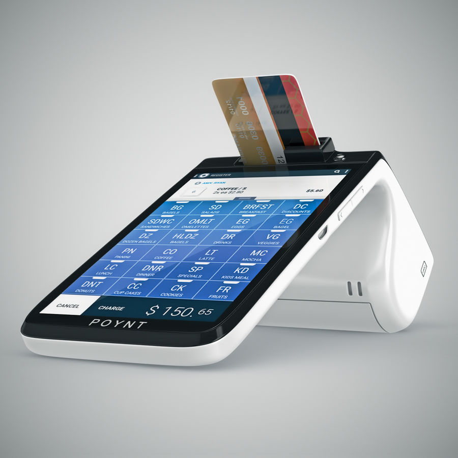 Poynt Smart Payment Terminal royalty-free 3d model - Preview no. 16