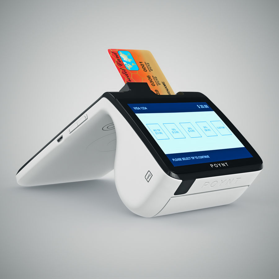 Poynt Smart Payment Terminal royalty-free 3d model - Preview no. 13