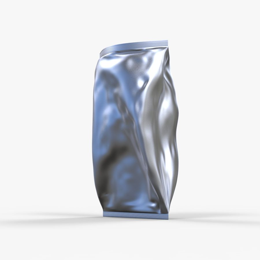 2 Bags Packaging royalty-free 3d model - Preview no. 6