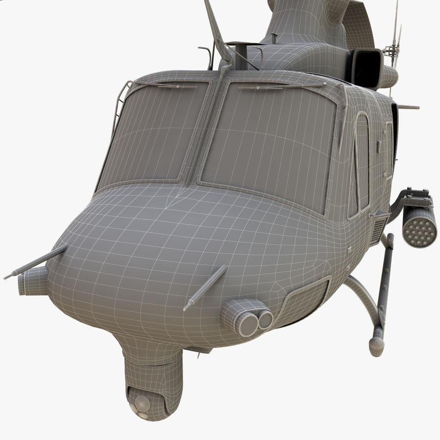 贝尔UH-1Y毒液 royalty-free 3d model - Preview no. 14