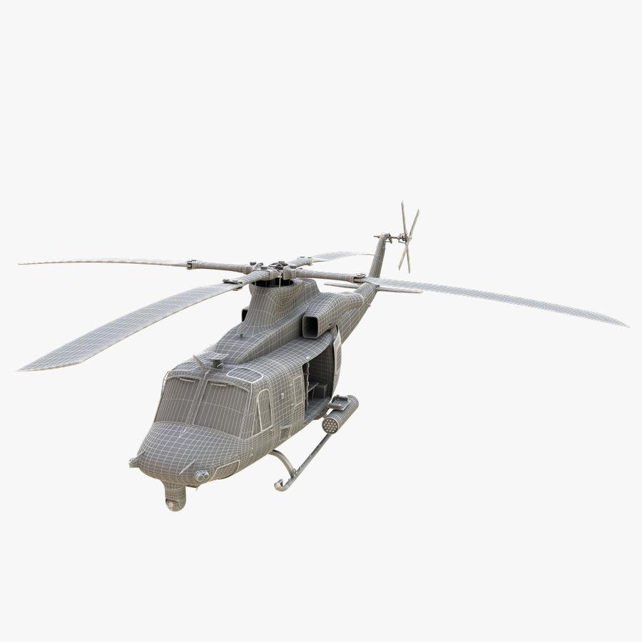 贝尔UH-1Y毒液 royalty-free 3d model - Preview no. 15