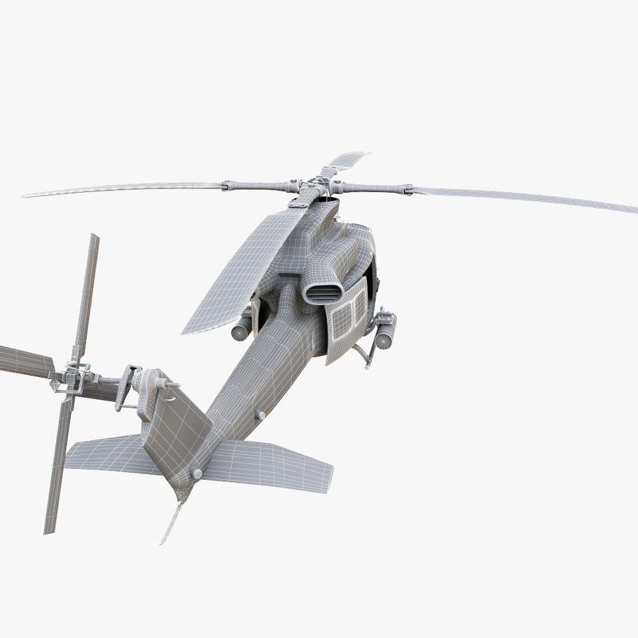 贝尔UH-1Y毒液 royalty-free 3d model - Preview no. 16