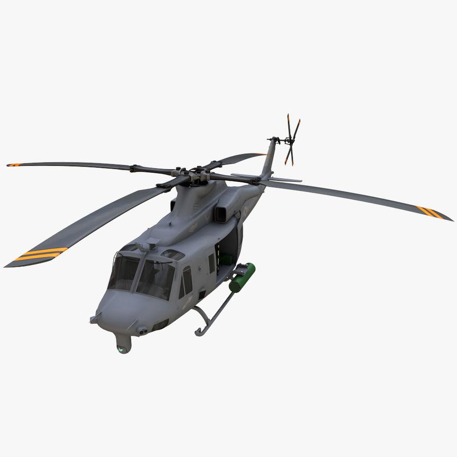 贝尔UH-1Y毒液 royalty-free 3d model - Preview no. 10