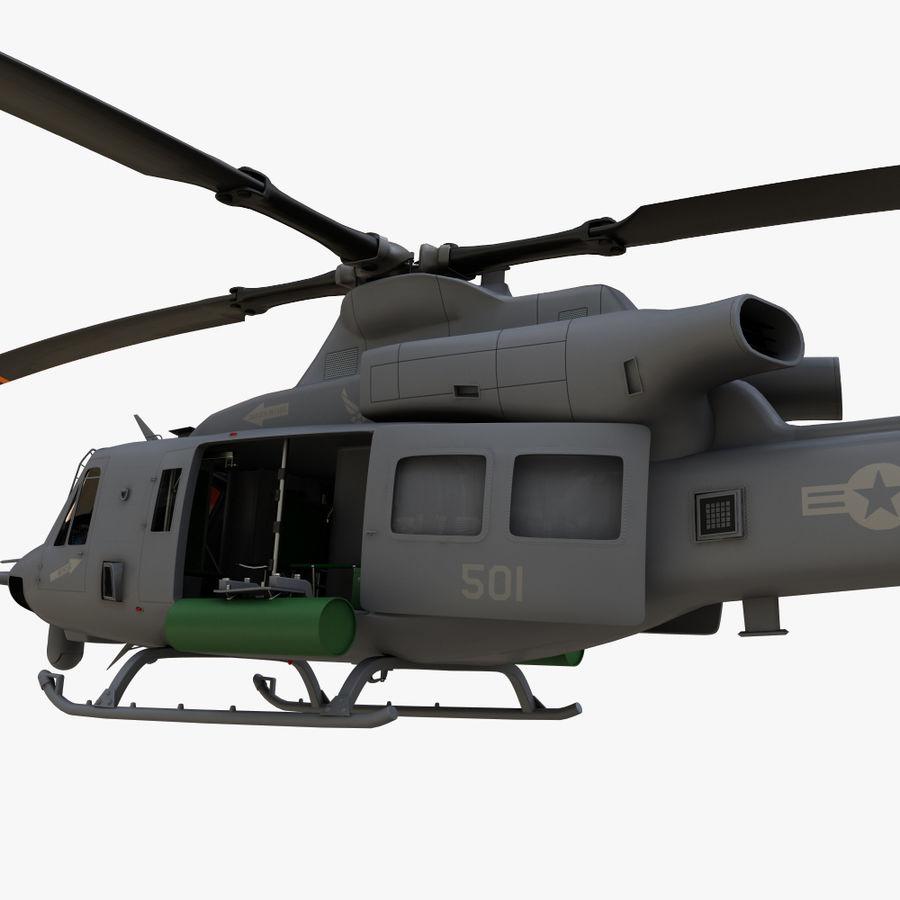 贝尔UH-1Y毒液 royalty-free 3d model - Preview no. 5