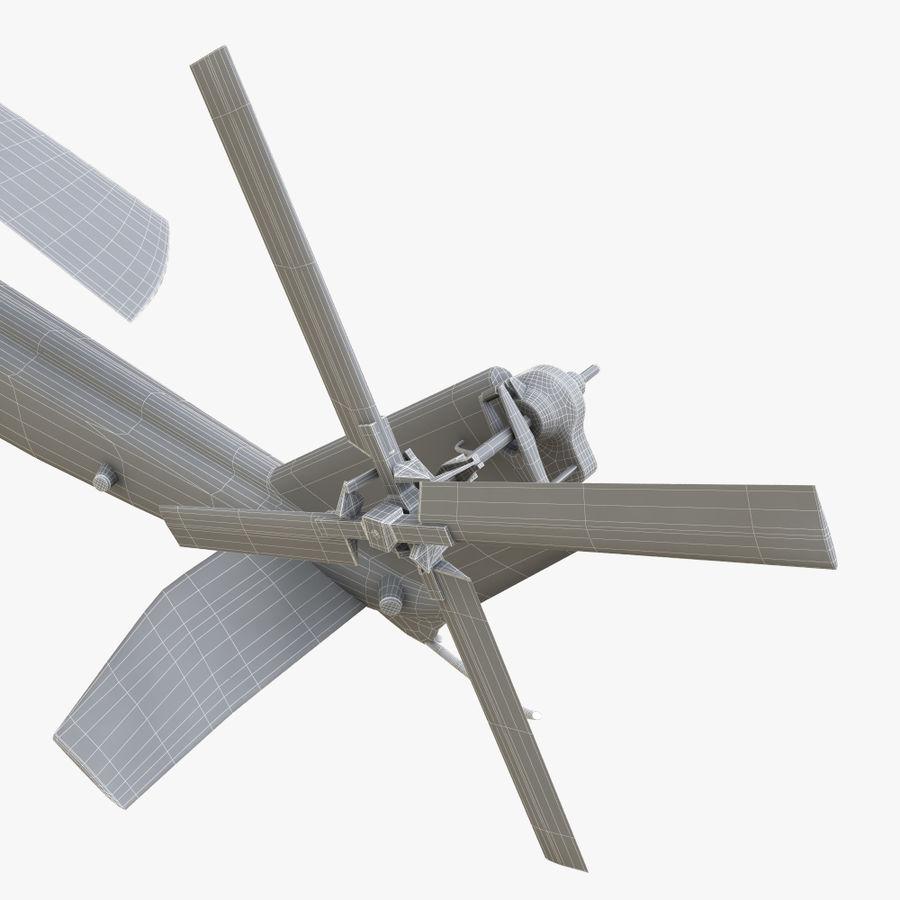 贝尔UH-1Y毒液 royalty-free 3d model - Preview no. 19
