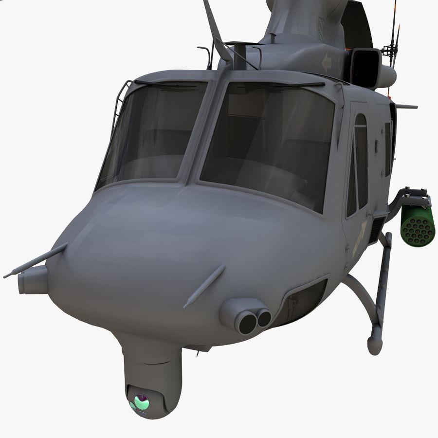 贝尔UH-1Y毒液 royalty-free 3d model - Preview no. 13