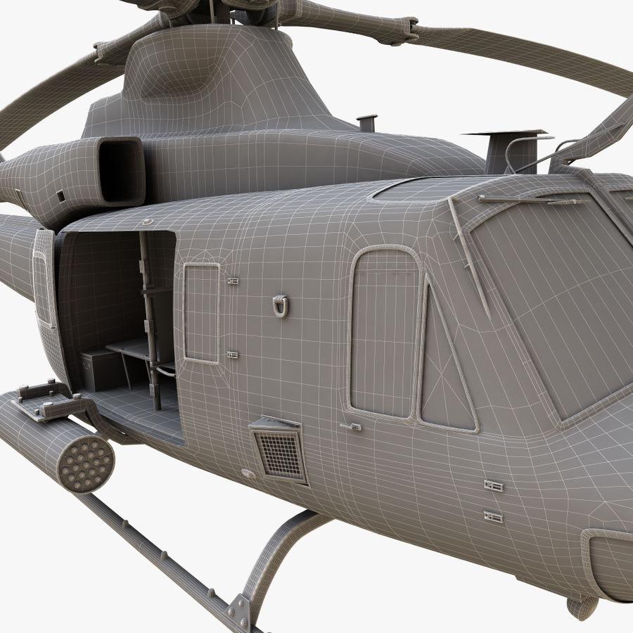 贝尔UH-1Y毒液 royalty-free 3d model - Preview no. 17