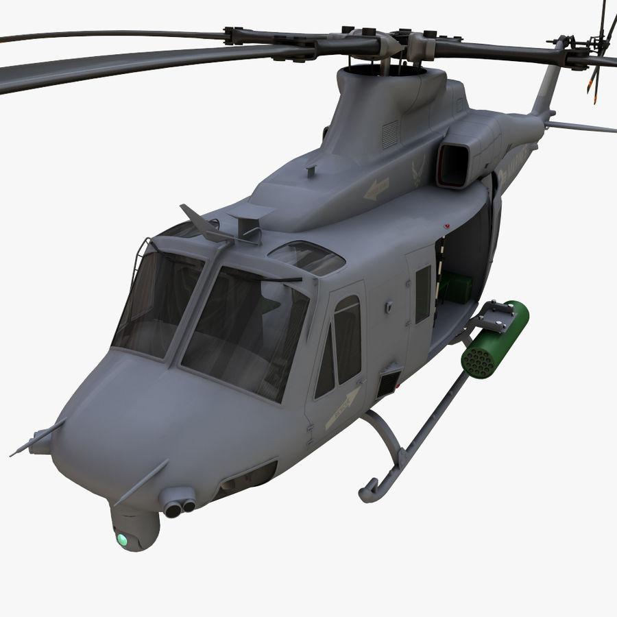 贝尔UH-1Y毒液 royalty-free 3d model - Preview no. 9