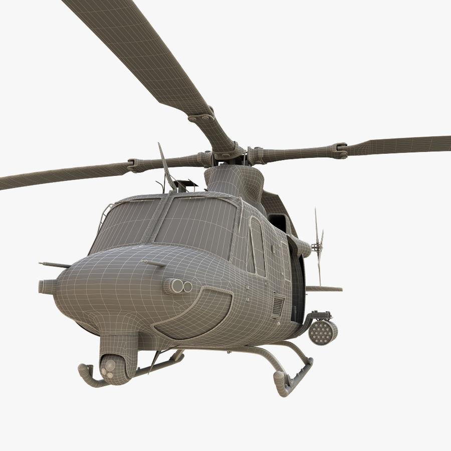 贝尔UH-1Y毒液 royalty-free 3d model - Preview no. 21