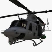 贝尔UH-1Y毒液 3d model