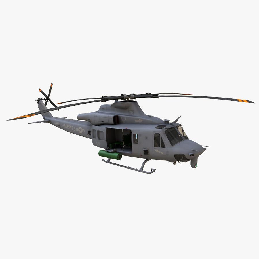 贝尔UH-1Y毒液 royalty-free 3d model - Preview no. 2