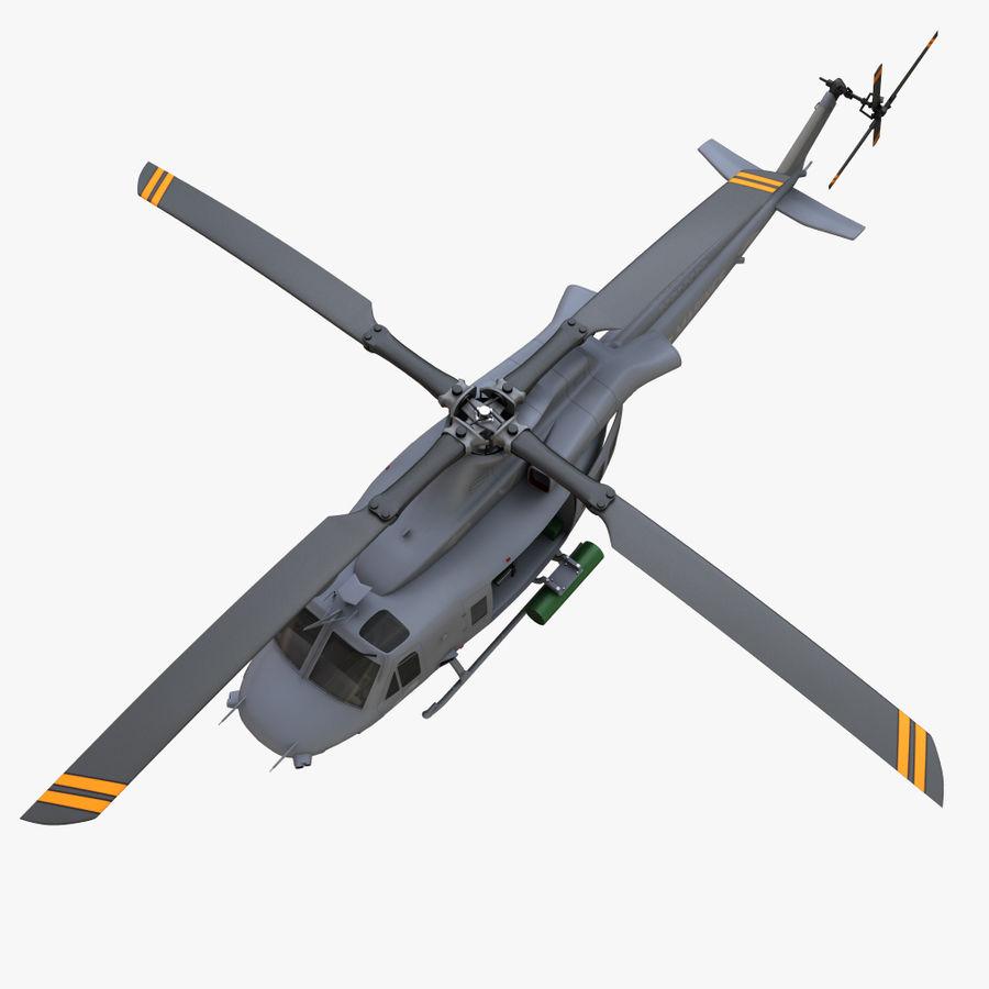 贝尔UH-1Y毒液 royalty-free 3d model - Preview no. 11