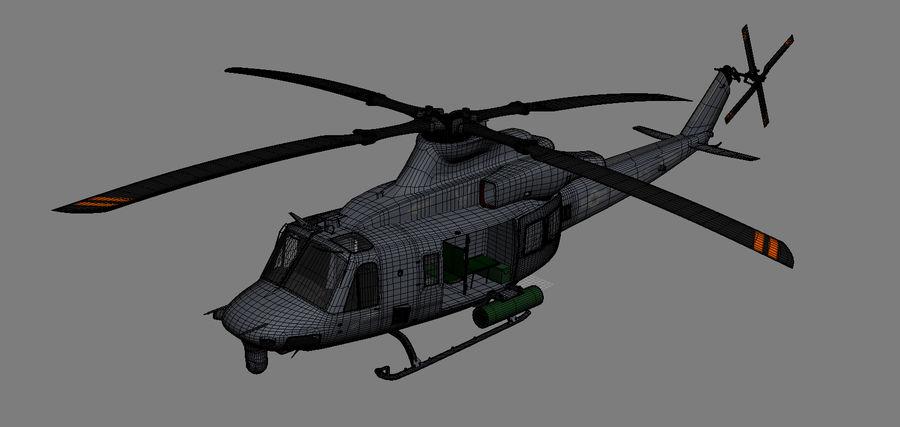 贝尔UH-1Y毒液 royalty-free 3d model - Preview no. 22