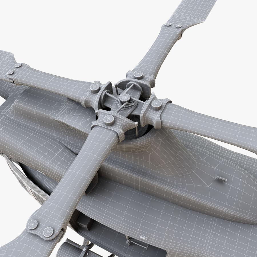 贝尔UH-1Y毒液 royalty-free 3d model - Preview no. 18