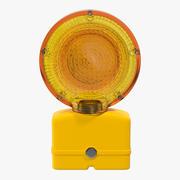 警示灯3 3d model