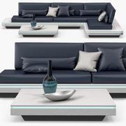 Manutti - Elements sofa 3d model