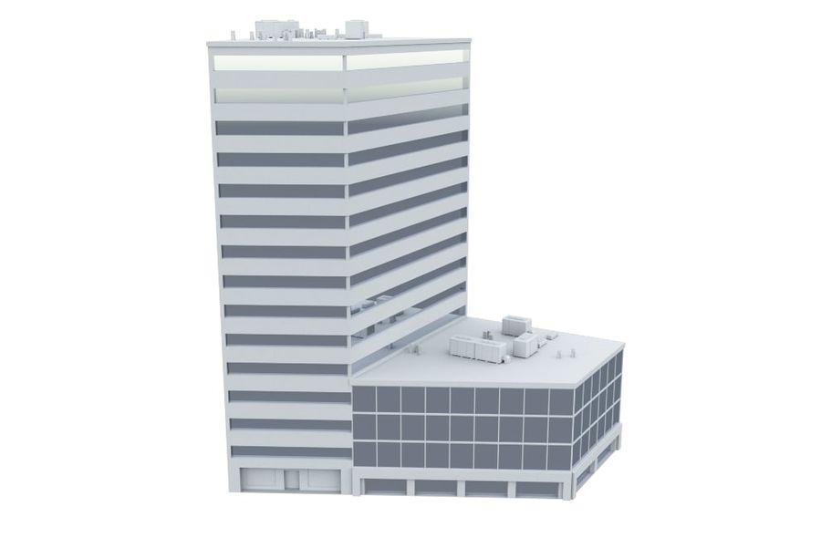 City block royalty-free 3d model - Preview no. 15