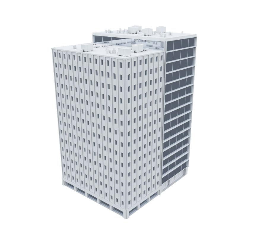 City block royalty-free 3d model - Preview no. 8