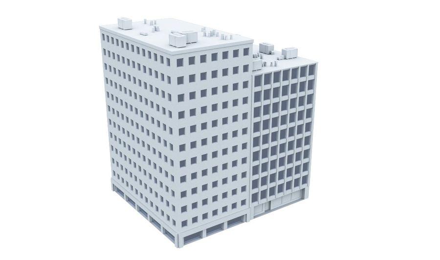 City block royalty-free 3d model - Preview no. 13