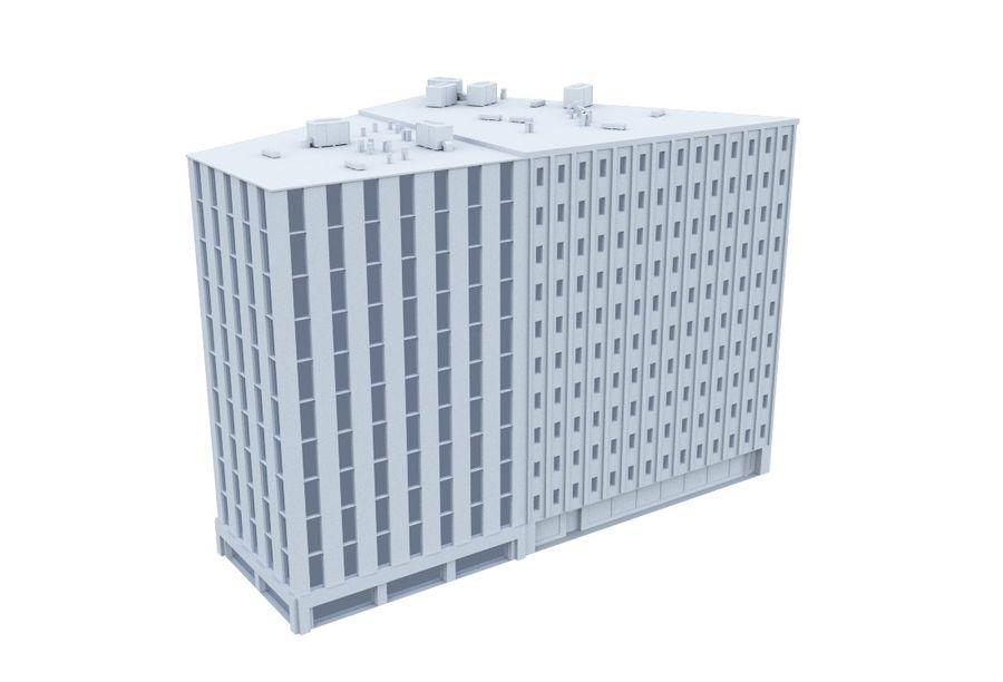 City block royalty-free 3d model - Preview no. 10