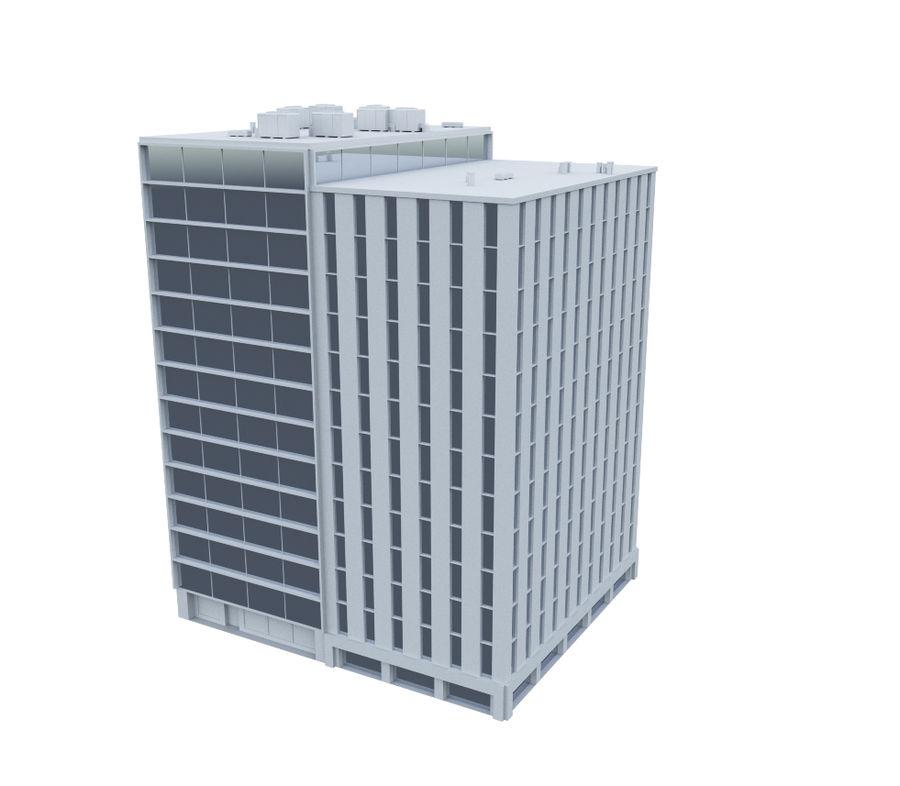 City block royalty-free 3d model - Preview no. 6