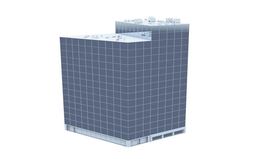 City block royalty-free 3d model - Preview no. 11