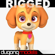 Paw Patrol Dog 02 3d model