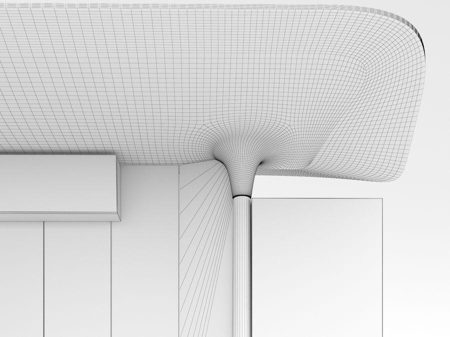 Nieuwe Parijs bushalte Abribus royalty-free 3d model - Preview no. 9